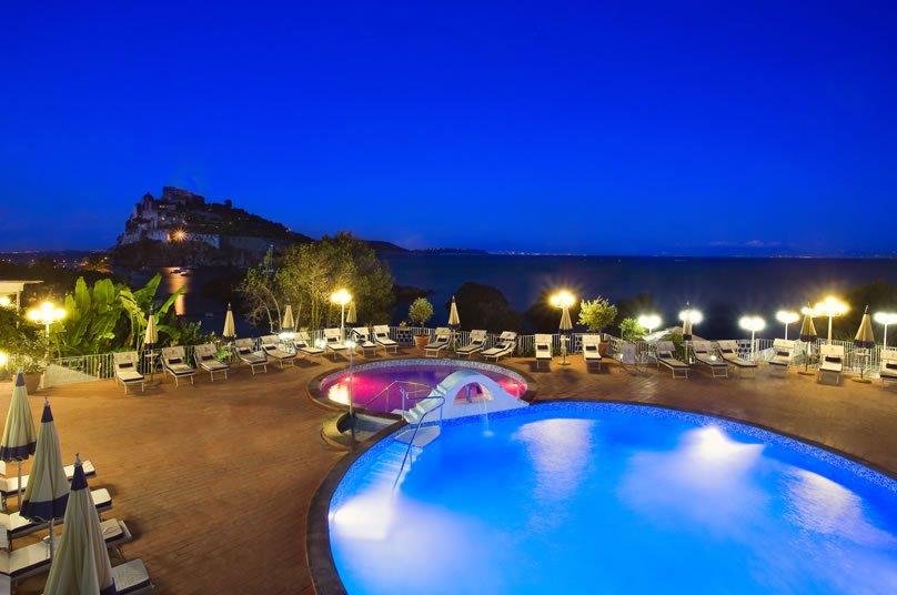 Strand Hotel Delfini Terme - Piscina Scoperta